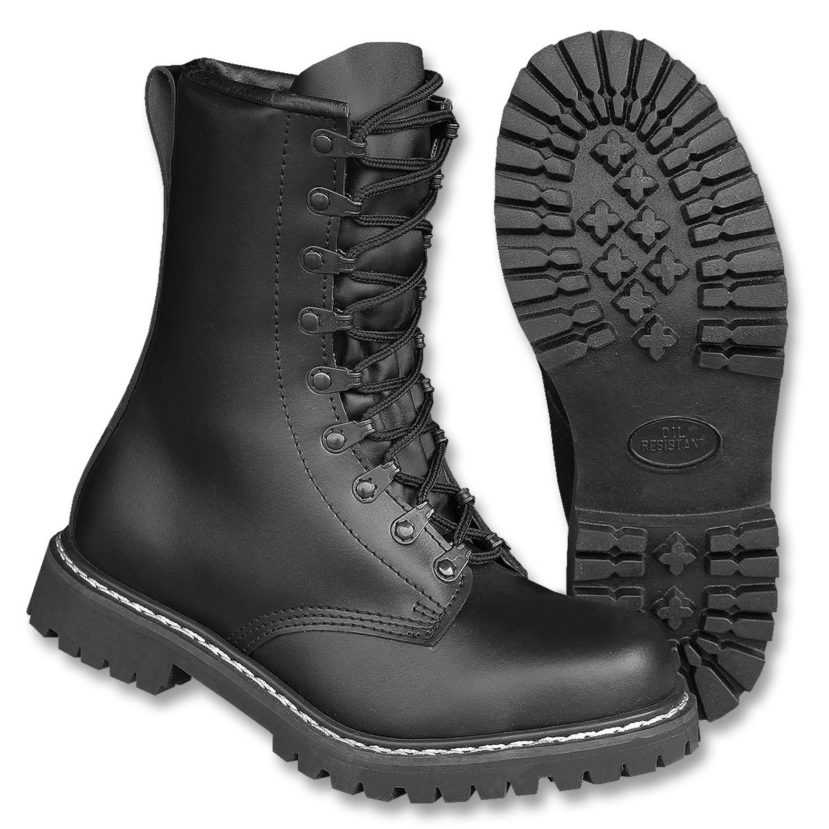 ef353b061bc7 Bakancs SPRINGERSTIEFEL TSR - Miltec By Sturm - Fekete | Army Shop Admiral