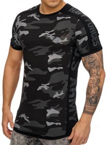 Army T-Shirt Navy Forves
