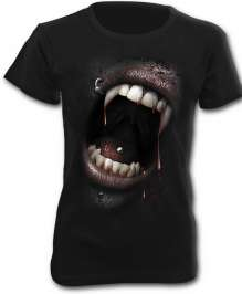 Girls shirt GOTH FANGS