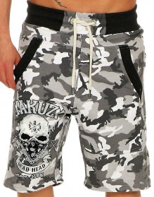 Yakuza Dead Head Loose Sweat Shorts