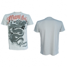 T-shirt White Dragon