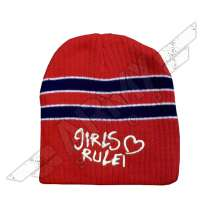 Girls Rule Beanie sapka