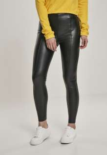 Női Legging Faux Leather Skinny