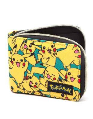 Pénztárca POKÉMON - ALL OVER PIKACHU ZIP WALLET