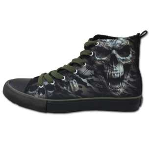 Férfi Sneakers papucs CAMO-SKULL