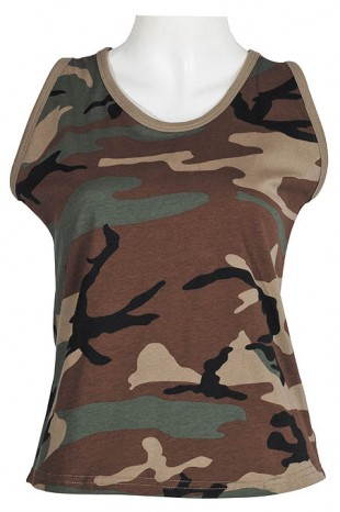 Női army Tank top