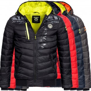 Férfi téli dzseki Geographical Norway Botical