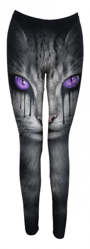 Női Legging CAT'S TEARS - Allover Comfy Fit Leggings