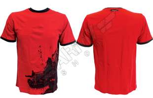 Gears Of War Red T-Shirt Soldier