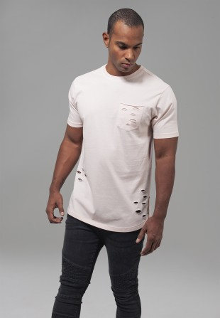 T-shirt Ripped Pocket