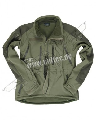 Softshell Dzseki Mil-tec Plus