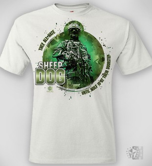 T-Shirt They all hate the Sheepdog